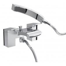 Bristan Descent Bath Shower Mixer Tap - Chrome Finish