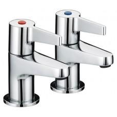 "Bristan Design Utility Lever Bath Taps 3/4"" -  Chrome Finish"