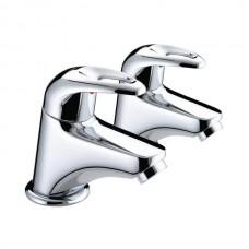 Bristan Java Bath Tap (Pair) - Chrome Finish
