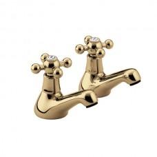 Bristan Regency Bath Taps Gold Plated (Pair)