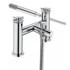 Bristan Decade Bath Shower Mixer Tap Kit -  Chrome Finish