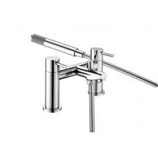 Bristan Blitz Bath Shower Mixer Tap - Chrome Plated