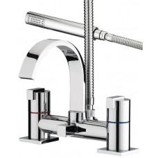 Bristan Chill Deck Mounted Bath Shower Mixer Tap - Chrome Finish
