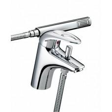 Bristan Java 1 tap hole bath shower mixer tap Chrome Plated