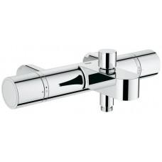 Grohe G100 Cosmopolitan Thermostatic Bath Shower Mixer Tap - Chrome Finish