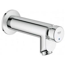 Grohe Euroeco Cosmopolitan Series T Self Closing Basin Mixer Tap - Chrome Plated