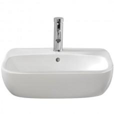 Twyford Moda series 1 Tap Hole Semi Recessed Basin 560mm - White